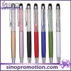 Penna di sfera decorativa del metallo della penna di Ballpoint della penna di cristallo