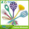 Los utensilios superiores de la cocina del silicón fijados de 6 incluyen