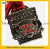 Медаль марафона отделки высокого качества античное серебряное