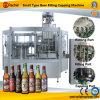 Macchina per l'imballaggio delle merci imbottigliante della birra automatica
