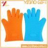 Guanti termoresistenti personalizzabili della gomma di silicone dei guanti mezzi del forno di alta qualità