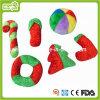 Игрушка любимчика игрушки Plush&Stuffed рождества собаки