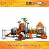 遊園地のためのプラスチック子供のスライド4m