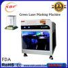 Grabador costoso del laser 3D en los vidrios cristalinos