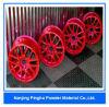 Capa barata roja y pintura de la resina de epoxy