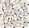 Tuile normale de verrouillage extérieure de travertin de la pierre DIY de plancher de fournisseur chinois