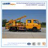 Leitschiene-Stampfer-LKW mit hydraulischem Stapel-Hammer für Straßen-Sperren-Installation