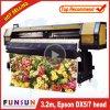 Funsunjet Fs-3202g 3.2m / 10FT Impressora de grande formato ao ar livre com duas cabeças Dx5 1440dpi para impressão em vinil
