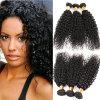 7A引かれる最上質のねじれた巻き毛のカンボジアの未加工毛の倍