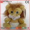 견면 벨벳에 의하여 채워지는 연약한 동물성 아기 사자 장난감