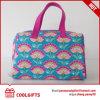 Saco de venda quente do curso da lavagem da composição da lona, saco cosmético
