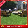 Hierba de alfombra artificial de la decoración del jardín