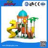 Kundenspezifischer Kind-Kinder Castel Spielplatz-im Freienspielplatz-Plättchen