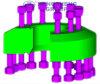 Adaptador hidráulico da flange do encaixe de tubulação do aço inoxidável