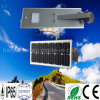 Luz de calle integrada de la energía solar LED 18W