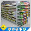 Cremalheira de indicador do supermercado com placa ajustável