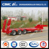 Cimc Huajun 3axle Lowbed Trailer Without Cover su Tire