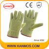 Промышленная безопасность Свинья Сплит кожа водителя Рабочие перчатки (21202)