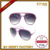 Óculos de sol quentes do plástico da venda F7169