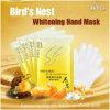 Ninho do pássaro dos produtos de cuidado de pele da mão que Whitening a máscara da mão da umidade