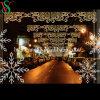 LED Christmas Motif Cross Street Light mit Fancy Motif Light Decoration Street Motif Light