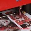 소기업을%s 셀룰라 전화 스티커 비닐 절단기 인쇄 기계