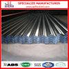 Hoja acanalada galvanizada SGCC del material para techos de Dx51d Dx52D