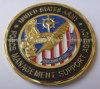 Weicher Decklack-Sporn geschnittene Militärmünze