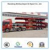 40FT Behälter-Schlussteil-niedriger flaches Bett-halb LKW-Schlussteil für Verkauf