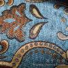 Полиэфир 100% ткани синеля жаккарда для мебели