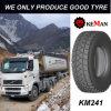Neumático del carro del fango del mecanismo impulsor Km241, neumático de TBR