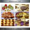 Papel de envolvimento da folha de alumínio do chocolate