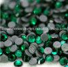 El mejor hierro esmeralda del grado Ss16 Ss20 Ss30 en el Rhinestone caliente cristalino del arreglo de Hotfix Strass para el adorno (grado de HF-ss16 ss20 ss30 emerald/4A)