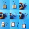 Mini Keyring feito sob encomenda do metal do frame da foto do retrato