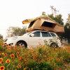 Tent over land van het Dak van de Auto van de Tent van het Dak van de Auto de Hoogste