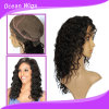 Perruque chaude de lacet de cheveux humains de la vente 100%