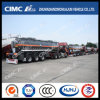 Customerへの大きいQuantity 3axle Chemical Liquid Tanker Delivered