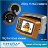 Mouvement Detection + Video Door Bell pour Apartment Peep Hole Metal Camera