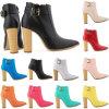 La caviglia del pattino delle donne caric il sistemaare i talloni d'altezza di inverno delle signore