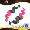 2개의 색깔 Malaysian Ombre 색깔 바디 파