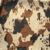 Gedruckte Kuh-Muster-Verzerrung, die das Velboa Gewebe benutzt für Spielwaren/Sofa (DMR001, strickt)