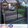 Puerta decorativa de la puerta del hierro labrado de la calidad superior/de la entrada de la seguridad/tubo principal de acero de la casa