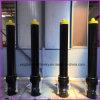 Cilindros hidráulicos telescópicos ativos únicos/dobro para fugas do caminhão de lixo/do caminhão/trator da cubeta/agricultural/mineração