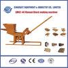 Petit bloc manuel de l'argile Qmr2-40 effectuant la machine