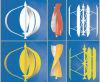 Low Start Vitesse du vent Maglev Vertical Axis Wind Turbine (Maglev VAWT) 300W-100kw avec conception personnalisée
