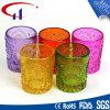 Bunte Zylinder-Form Tealight Glaskerze-Halter (CHZ8007)