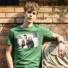 T-Shirt fait sur commande pour Men (QQ393)
