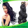 卸し売り毛はバージンのインドのRemyの人間の毛髪の拡張を継ぎ合わせる