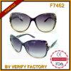Vidros raros do CE das vibrações de Cazal da mulher das cópias da etiqueta F7462 confidencial