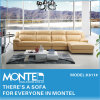 ホーム家具の部門別のソファー、セットされる現代イタリアの革ソファー(K611#)